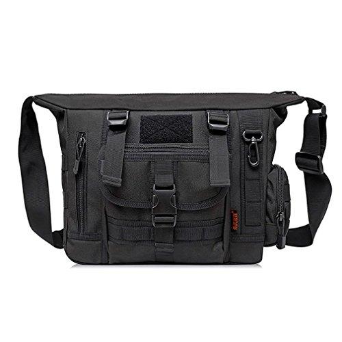 FFZH camuffamento digitale ventilatori militari tracolla / borsa del computer borsa uomo messenger / tattiche borsa casual , B G
