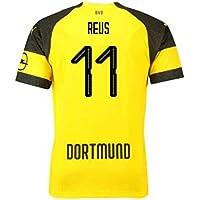 2018-2019 Borussia Dortmund Puma Home Football Soccer T-Shirt Camiseta (Marco Reus