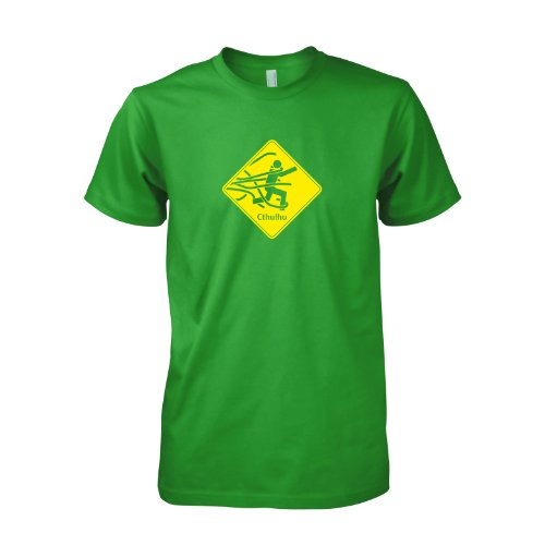 TEXLAB - Beware of Cthulhu - T-Shirt, Herren Grün