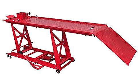 Support de montage - Pont élévateur - Plateforme élévatrice hydraulique pour moto 450 kg