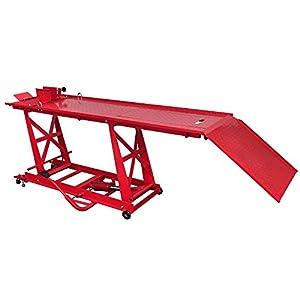 Support de montage – Pont élévateur – Plateforme élévatrice hydraulique pour moto 450 kgpas cher