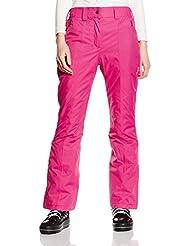 CMP pantalones para mujer pantalones de esquí, Magenta, D34, 3W20636