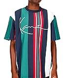 Karl Kani Herren T-Shirts Signature Stripe weiß M