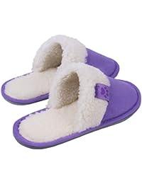 b25bfe4e17facc TWINS Fashion Modello Riga Pantofole casa Donna Uomo Ciabatte Interno  comode Leggere Calde Antiscivolo Babbucce Muli in Pelle…