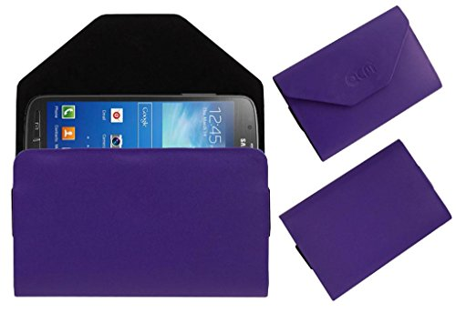 Acm Premium Pouch Case For Samsung Galaxy S4 Active I9295 Flip Flap Cover Holder Purple  available at amazon for Rs.329