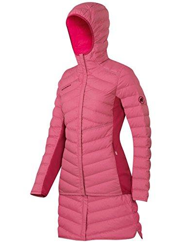 Mammut Runbold Pro IS Hooded Women's Jacket crimson melange/seaweed melange