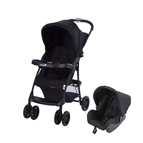 Safety 1st Passeggino Duo Taly 2 in 1, Full Black