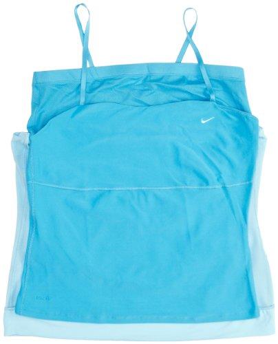 Nike Dri-FIT Tech Haut pour femme Bleu - Bleu