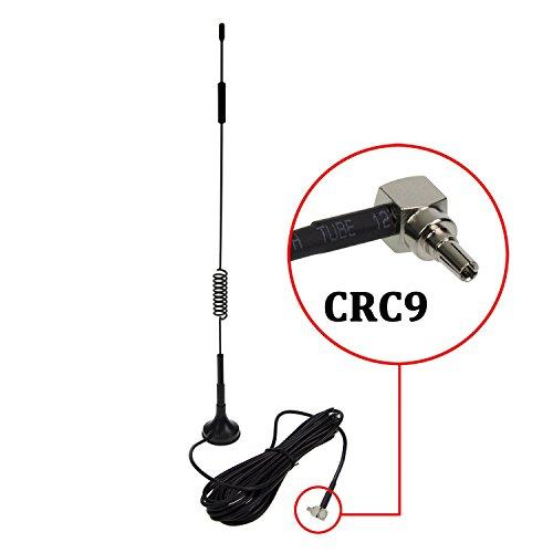 CRC9 4G Antenne, LTE Antenne Wifi Signal Booster Verstärker Modem Adapter Netzwerk Empfänger / CRC9 Stecker / 3m Kabel / 12 dBi Hochleistungs Gewinn ( Antenne CRC9) Kabel-modem Booster