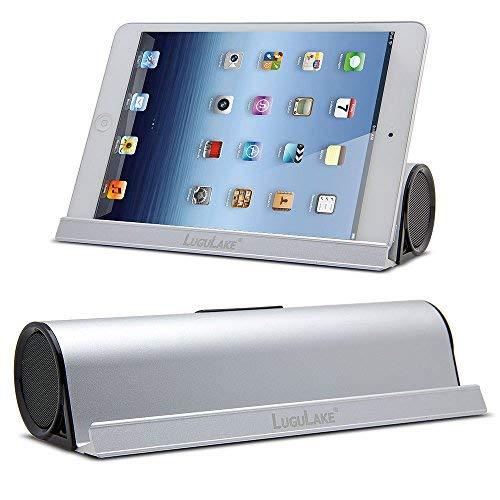 1b0c38fdfb8edf [Versione aggiornata] LuguLake 6W Altoparlante Bluetooth Tascabile con  supporto dock, altoparlanti stereo Bluetooth
