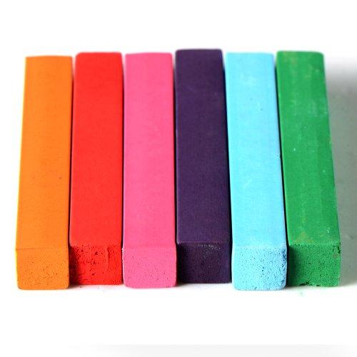 Kit de 6 Couleur Coloration Cheveux Teinture Craie Crayon Temporaire Coiffure