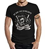 GASOLINE BANDIT T-Shirt original Biker Rockabilly Design zum 50. Geburtstag: Born 1969 XL