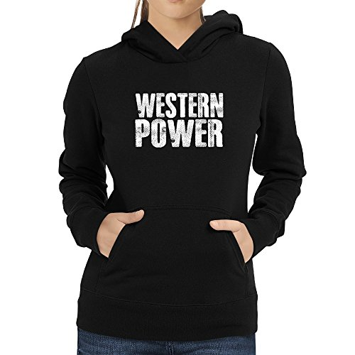 Power Western (Eddany Western power Damen Hoodie)