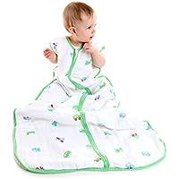 El saco de dormir para verano Slumbersac para bebés, de aprox. 0.5 Tog – Coches – en varios tamaños: desde el nacimiento hasta 6 años
