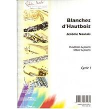 Partitions classique ROBERT MARTIN NAULAIS J. - BLANCHES D'HAUTBOIS Hautbois