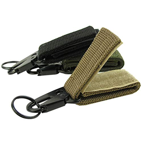Garciadia Multifunktionale Outdoor-Camping-Tactical Karabiner Rucksack Haken Olecranon Molle Haken Überleben Gang Schlüsselanhänger Haken -