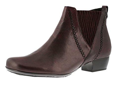 Gabor Shoes 56.642 Damen Kurzschaft Stiefel Rot