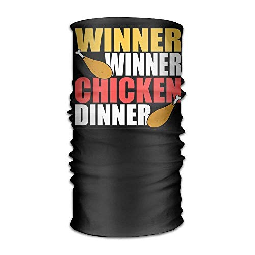 Winner Winner Chicken Dinner Pubg Headwear For Men And Women-Yoga Sports Travel Workout Wide Headbands,Neck Gaiter,Bandana,Helmet Liner,Balaclava,Hair Turban,Scarf