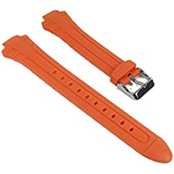 Casio Correa de Reloj Resin Band Orange MTR-102-1A5VEF MTR-102