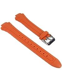 Casio Correa de Reloj Resin Band Orange MTR-102-1A5VEF MTR-102