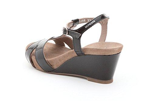 MEPHISTO BATIDA - Sandales / Nu-pieds - Femme Black
