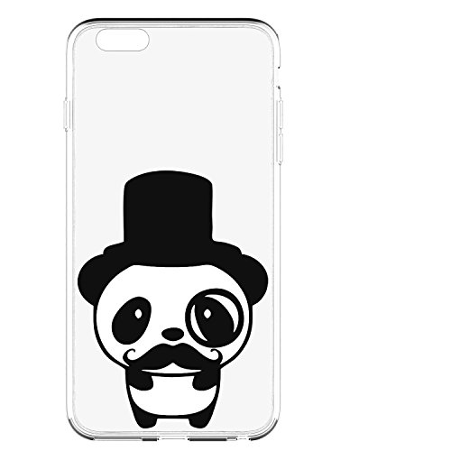 Pacyer® iPhone 6/6s Custodia Panda TPU Case Transparente Protettivo Skin Shell Case Cover Per Apple iPhone 6 6s (4,7) 5