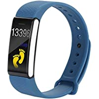 Fitness Activity Tracker Color Screen, Health Watch with Heart Rate Blood Pressure Monitor, Blood Pressure,Step Calorie Counter Exercise Pedometer for Women Men