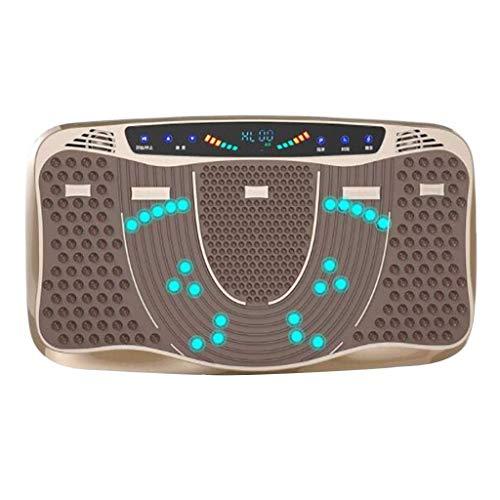 JQWQJ 3D Motor Vibrationsplatte Magnetfeldtherapie Massage Muskel Lautsprecher Vibration Oszillationsmaschine Ganzkörper Joggen - 10 Motor-massage-kissen