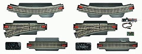 Rail Roco 51250 H0 - Extension de la voie H0 set 1 vers le set de démarrage numérique
