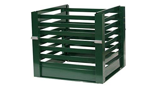 metallfunktion Aluminium Komposter Metall Kompostbehälter 1m x 1m 960L (Moosgrün)