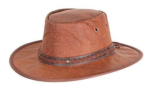 Scippis - Chapeau western - Homme Marron Marron - Marron - Brown - Brown - XL