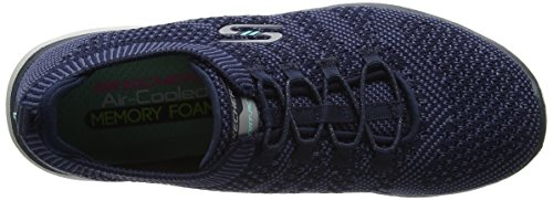 Skechers Damen Galaxies Ausbilder Blau (Navy/Blue)
