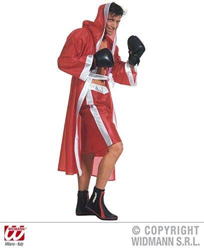 Boxer Umhang mit Gürtel und Hose Gr. M rot