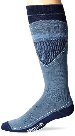 Wigwam Men's Snow Blitz Pro socks, China Blue, Medium