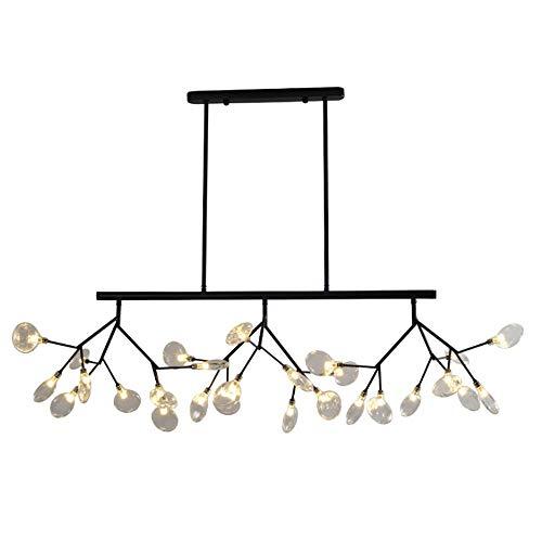Lustre Plafonnier de lustre industriel pour l'éclairage de café de bar de restaurant de salle à manger (Couleur : LED white light)
