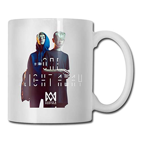 Kaffeetasse Wasser trinken Tasse Marcus & Martinus Mug Personality Coffee Cup Water Tea Drink Cup 11 Ounce
