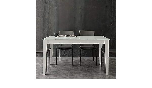 en Manger à Table Extensible Alano Verre M 029 Design Taupe ZOkuXiP