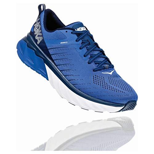 Hoka Arahi 3 - Zapatillas de Running para Hombre, Color Azul, Talla 46 2/3 EU