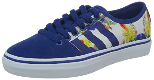 adidas Originals Adria Restyle Low Synthetic (FARM) - zapatilla deportiva de material sintético mujer, color azul, talla 39 1/3 EU (6 )