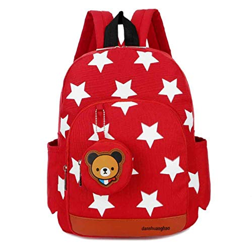 Zaini per bambini asilo nido scuola materna per bambini ragazzi/ragazze zaino bambino carino stampato bag