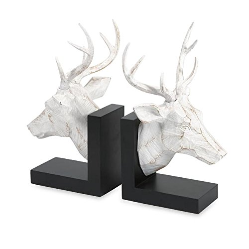 imax-worldwide-one-source-joseph-deer-bookends-multi-colour-set-of-2