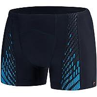 Speedo Fit Powermesh Pro Aquashort - Chaqueta para Hombre, Hombre, Color Black/Windsor Blue, tamaño Talla 34/36