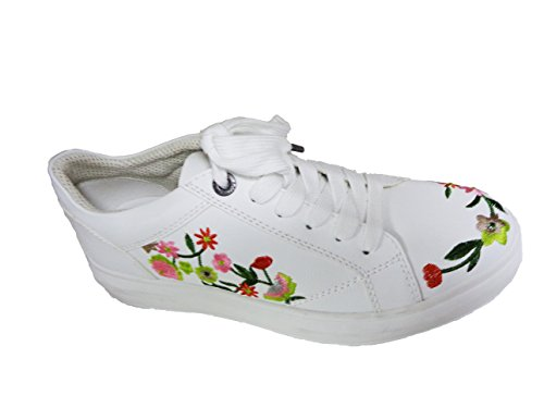s.Oliver Damen 23645 Sneakers Weiß (White 100)