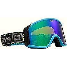 Spy Raider - Gafas de esquí, color azul, talla única