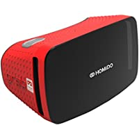 Homido GRAB Virtual Reality Headset for Smartphone - Red - ukpricecomparsion.eu