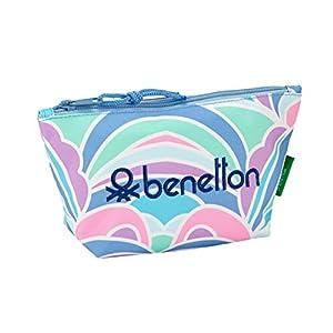 "41iq4Bxt51L. SS300  - Benetton ""Arcobaleno"" Oficial Mochila Escolar Infantil Porta Maquillaje 230x80x120mm"