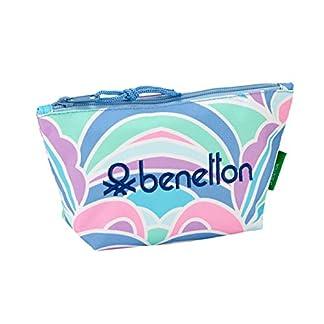 "41iq4Bxt51L. SS324  - Benetton ""Arcobaleno"" Oficial Mochila Escolar Infantil Porta Maquillaje 230x80x120mm"