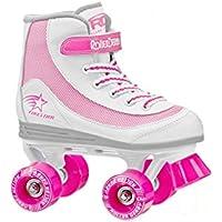 Roller Derby – Patins à roulettes FireStar V2.0, blanc/rose