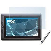2 x atFoliX Lámina Protectora de Pantalla Wacom CINTIQ Companion 2 Película Protectora - FX-Clear ultra transparente
