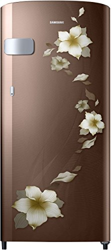 Samsung 192 L 2 Star Direct Cool Single Door Refrigerator(RR19N1Y22D2/HL, RR19N2Y22D2/NL, Star Flower Brown)